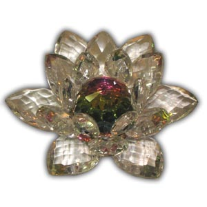 Crystal Lotus Flower - Medium