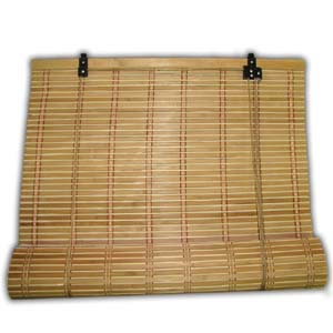 Bamboo Blind, Brown V, 180 cm x 180 cm