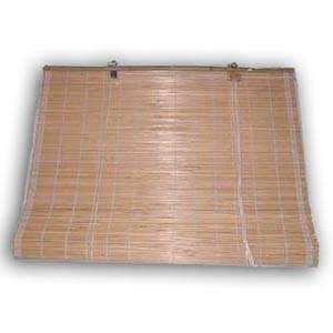 Bamboo Blind, Natural, 24 x 72 inches
