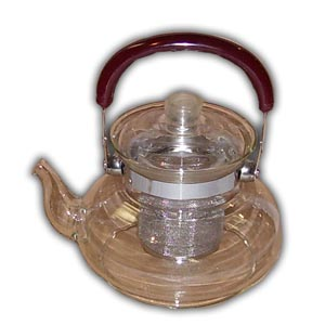 Oriental Clear Glass Teapot - #03