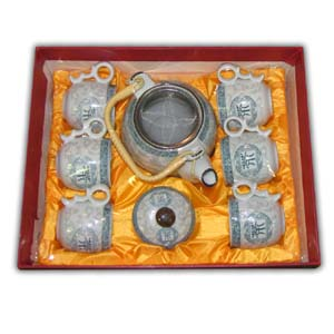Oriental Teaset with Gift Box - Tea