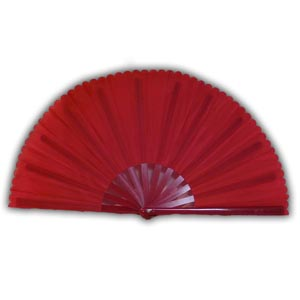 Oriental Chinese Kung Fu Fan - Red