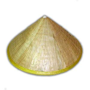 Oriental Asian Chinese Straw Hat