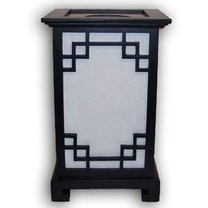 Japanese Lamp - Singapore (Black)