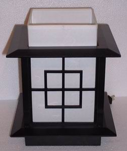 Japanese Lamp - Yamata (Black)