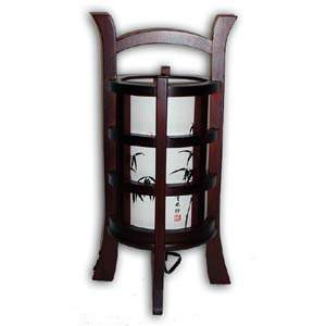 Japanese Lamp - Khabarovsk, Large, Bamboo (Brown)