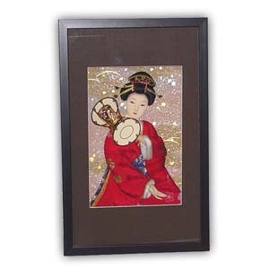 Oriental Japanese Geisha Picture - Small, #135