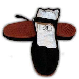 Chinese Kung Fu Tai Chi Shoes, Plastic Sole - Ladies, Size 35