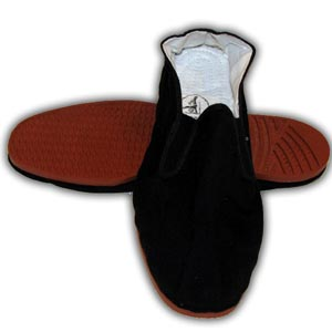 Chinese Kung Fu Tai Chi Shoes, Plastic Sole - Size 40