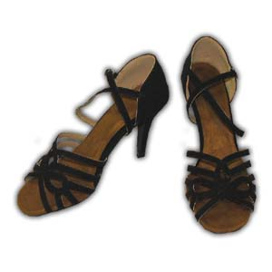 Women Dance Shoes Latin Ballroom Tango Salsa - #SHH01