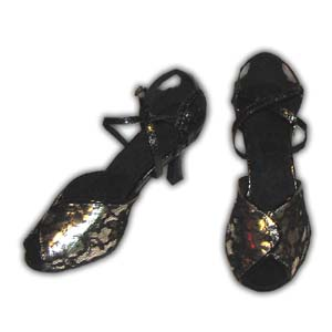 Women Dance Shoes Latin Ballroom Tango Salsa - #SHH06