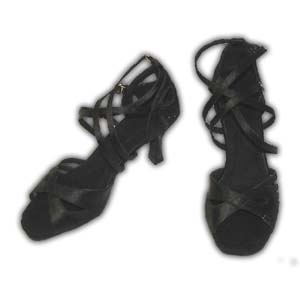 Women Dance Shoes Latin Ballroom Tango Salsa - #SHH08