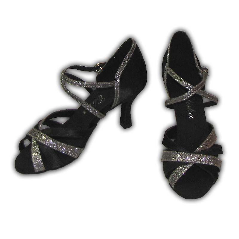 Women Dance Shoes Latin Ballroom Tango Salsa - #SHY09