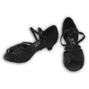 Women Dance Shoes Latin Ballroom Tango Salsa - #SHY17
