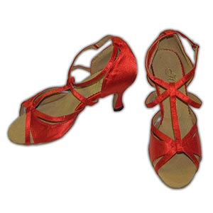 Women Dance Shoes Latin Ballroom Tango Salsa - #SHY23