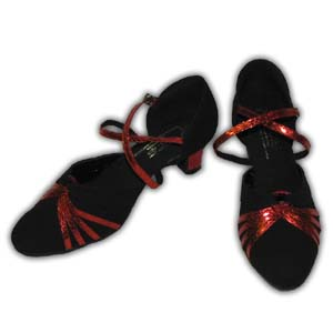 Women Dance Shoes Latin Ballroom Tango Salsa - #SHY34
