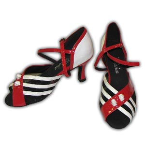 Women Dance Shoes Latin Ballroom Tango Salsa - #SHY35