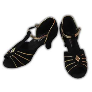 Women Dance Shoes Latin Ballroom Tango Salsa - #SHY42