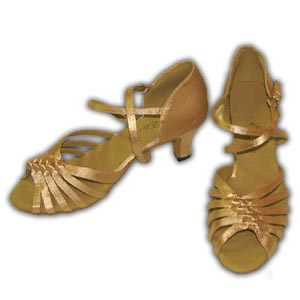 Women Dance Shoes Latin Ballroom Tango Salsa - #SHY43