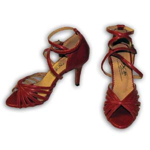 Women Dance Shoes Latin Ballroom Tango Salsa - #SHY44