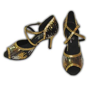 Women Dance Shoes Latin Ballroom Tango Salsa - #SHY46