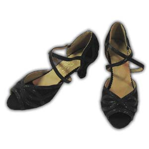Women Dance Shoes Latin Ballroom Tango Salsa - #SHY59
