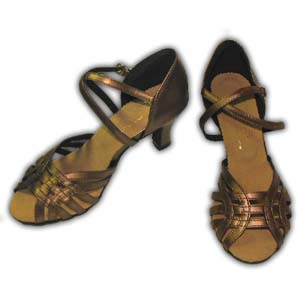 Women Dance Shoes Latin Ballroom Tango Salsa - #SHY64