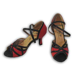 Women Dance Shoes Latin Ballroom Tango Salsa - #SHY65