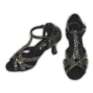 Women Dance Shoes Latin Ballroom Tango Salsa - #SHY81