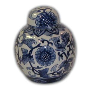 5 inches Oriental Chinese Porcelain Mini Jar